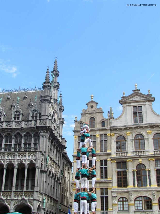 Castellers Bruselas